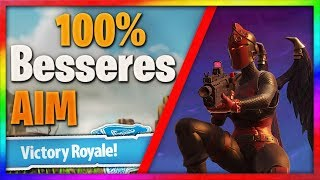 100% BESSERES AIM IN FORTNITE / Aim Train: (Console: Ps4 / Xbox) Tips and Tricks | RedixHyper