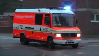 [Gasgeruch] Einsatzfahrten Feuerwehr Rendsburg
