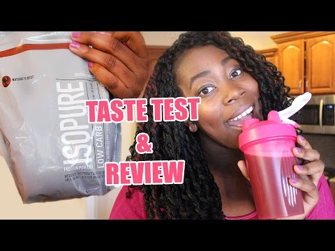 taste-test-&-review-||-isopure-low-carb-protein-powder