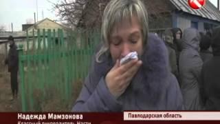 В Павлодарской области прощались с 14-летней Настей Шариповой, чье убийство потрясло весь регион