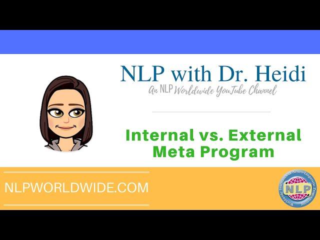 Internal vs. External Meta Program