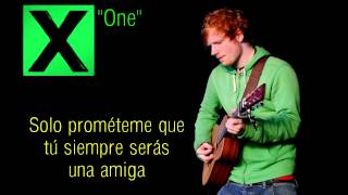 One - ED SHEERAN