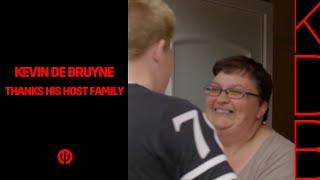 Kevin De Bruyne bedankt de familie Monnissen!