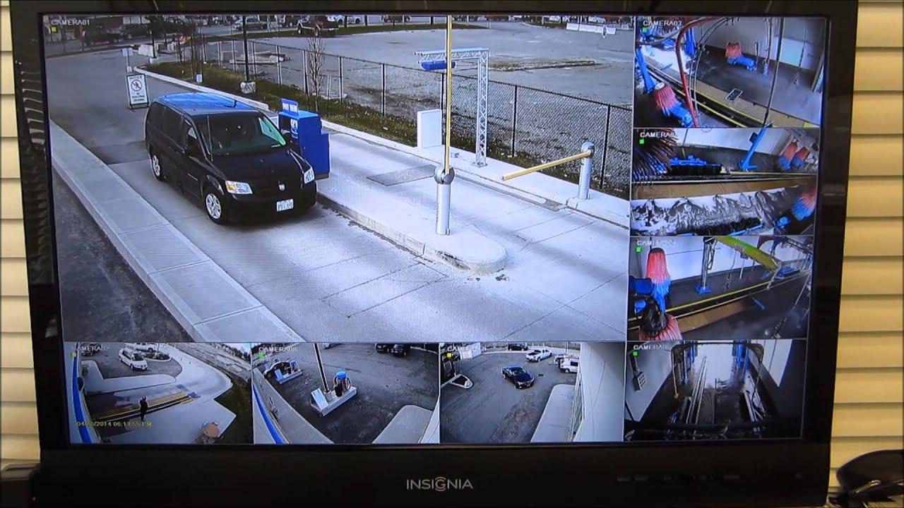 Security Cameras For Cars: Car Wash & Gas Station HD-SDI Security Cameras Toronto