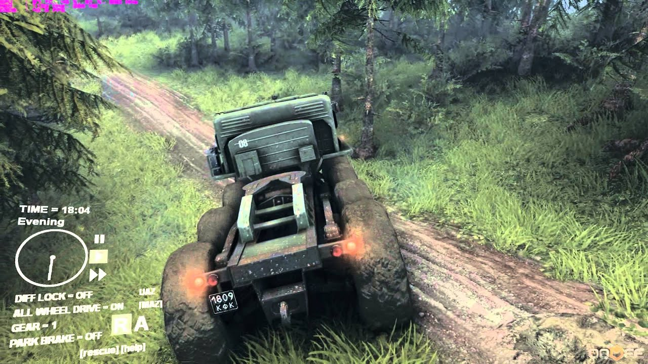 SpinTires [Tech Demo] Gameplay (PC) - YouTube