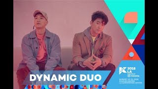 kcon 2018 la 2nd artist announcementcrush and dynamic duo m countdown 180413 ep0