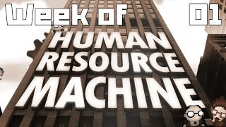 Week of - Human Resource Machine Part 1 - Solutions 1-14