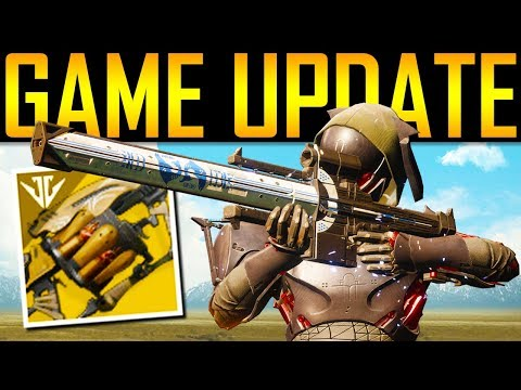 Destiny 2 - WOW! HUGE UPDATE! NEW EXOTICS!