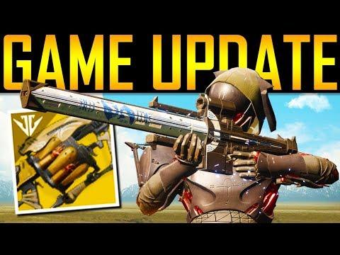 Destiny 2 - WOW! HUGE UPDATE! NEW EXOTICS! thumbnail