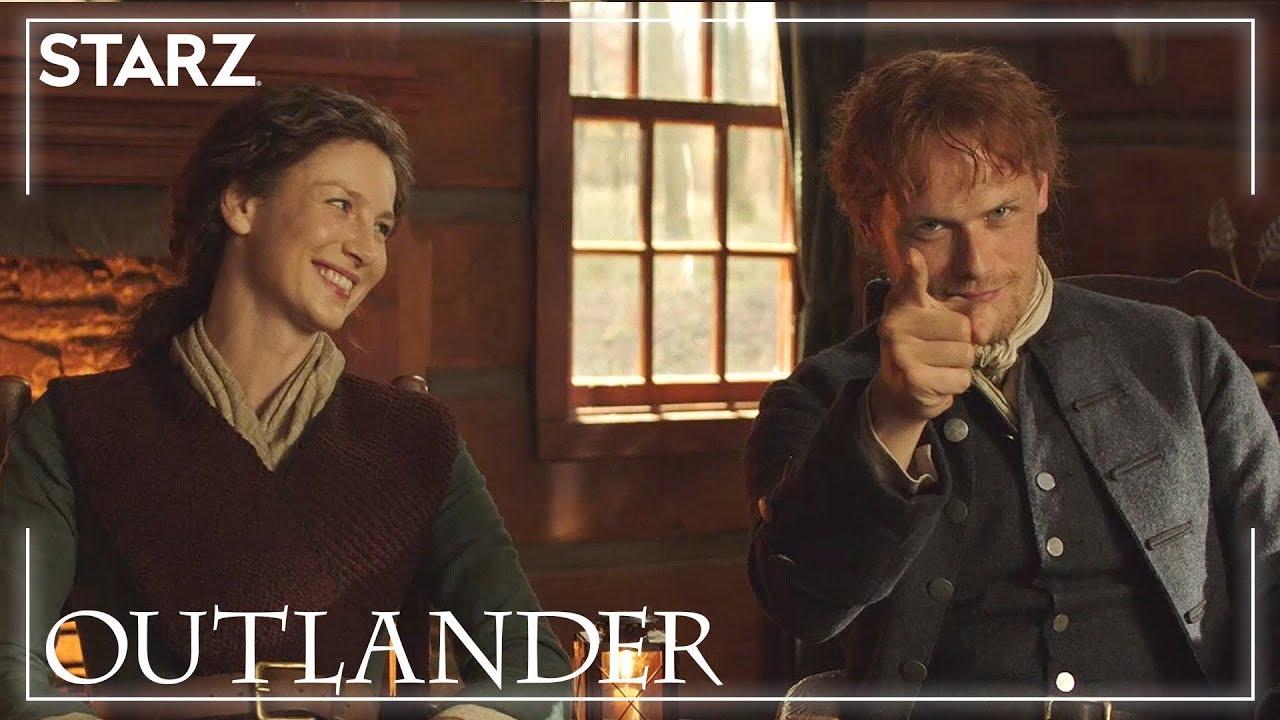Outlander | Caitriona and Sam Read Fan Tweets | STARZ