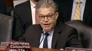 Sen Franken Quizzes FBI Director Comey On Trump-Russia Ties