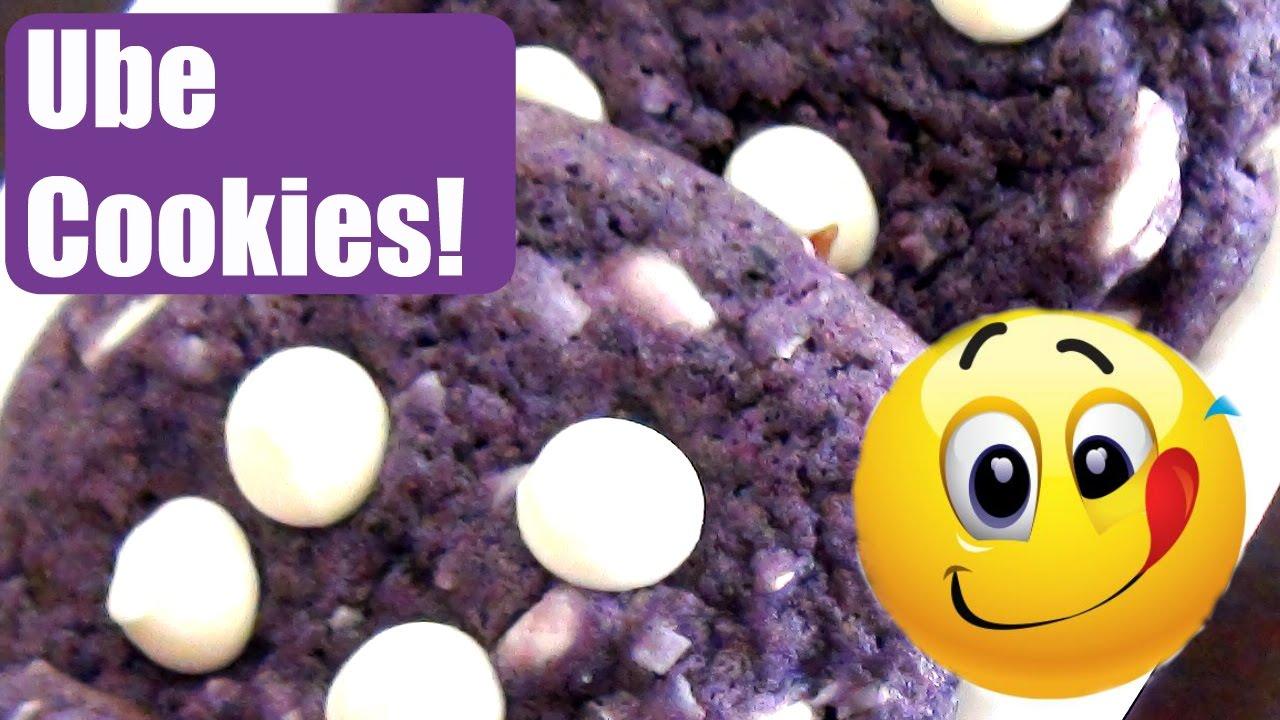 Delicious Ube Cookies Youtube