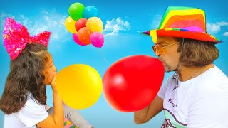 BALLOON SONG | Nursery Rhymes for kids by Alice and TOYS