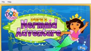 Dora The Explorer - Mermaid Adventure 2009 Nick Jr. Flash Game