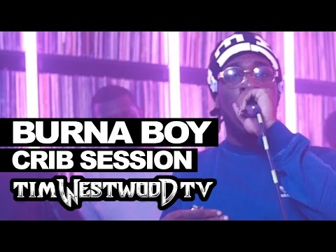 Burna Boy freestyle - Westwood Crib Session