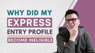 Pourquoi mon EE profil (FSW) deviennent inéligibles ?