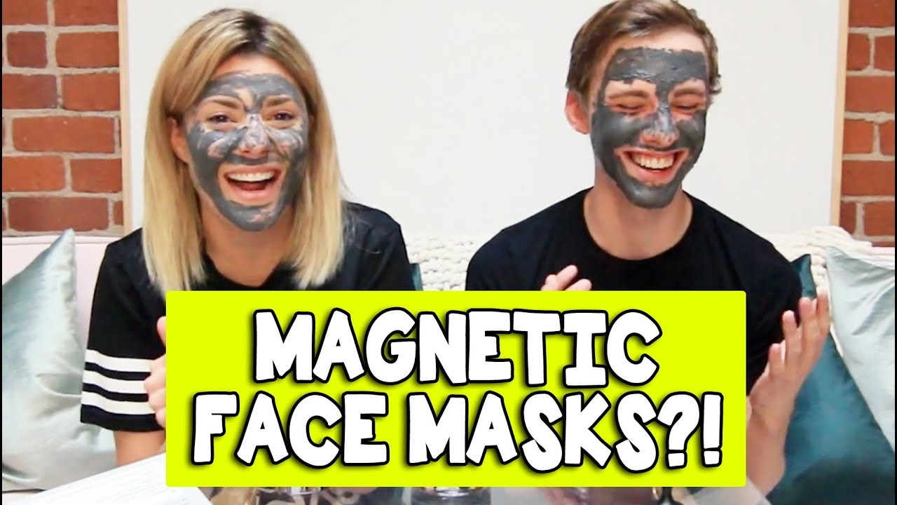 MAGNETIC FACE MASKS w/ JON COZART // Grace Helbig
