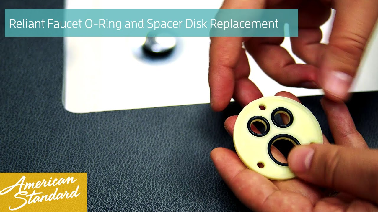 how to replace the o ring disk and spacer kit for your reliant