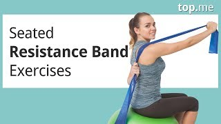 Zany image regarding printable resistance band exercises for seniors