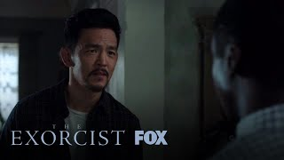 Andy Encourages Shelby To Stick To His Faith | Season 2 Ep. 3 | THE EXORCIST