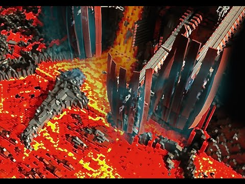 Lego Star Wars Mustafar Base Moc Youtube