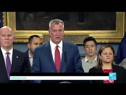 "New York Mayor Bill de Blasio: ""we will not deport law-abiding New-Yorkers"""
