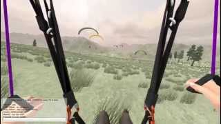 ParaflySim Paragliding Simulator Multiplayer, First Real Look!