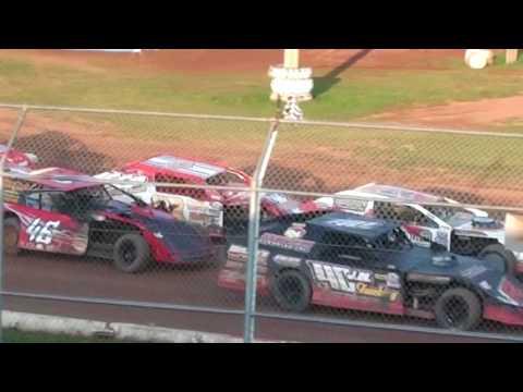 Ryan Adamzak Wissota Midwest Modifed Heat Race 8-5-17 ABC Raceway