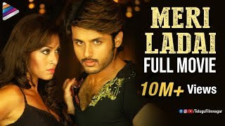 Meri Ladai Hindi Full Movie | Nithin | Sada | Takkari | Latest Hindi Dubbed Movies |Telugu Filmnagar