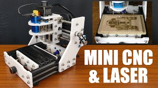Mini Cnc Router & Laser Kit Build, Tutorial & Testing Materials - Eleksmaker Eleksmill