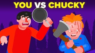 YOU vs CHUCKY -  How Can You Defeat and Survive It? (Child