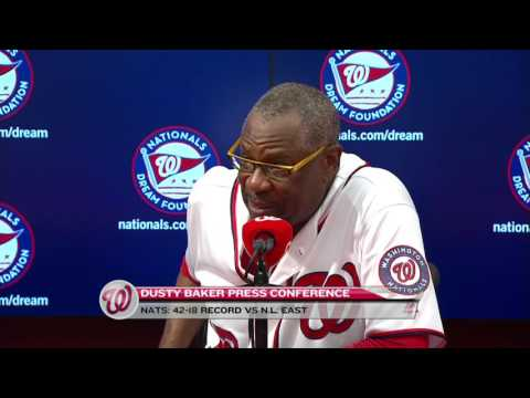 Dusty Baker updates Stephen Strasburg's injury after 5-4 win