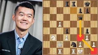 Nope! || Ding vs Movsesian || FIDE World Cup (2019)