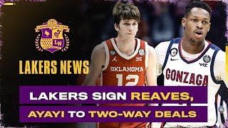 Lakers Find Undrafted Steals In Joel Ayayi, Austin Reaves, Mac McClung, Chaundee Brown