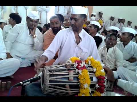 Maharashtra Vaarkari Style Pakhawaj Parampara Pt. Ashokji M, Panchal In Hari KirtanOf Kurhekar Baba