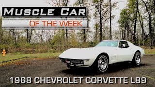 1968 Chevrolet Corvette L89 Coupe: Muscle Car Of The Week Video Episode #216