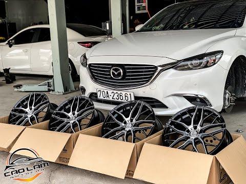 Mazda 6 độ mâm LENSO 19 icnh , mời các bạn cùng ngắm