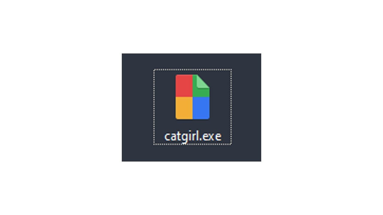 catgirl.exe, the worst discord keylogger