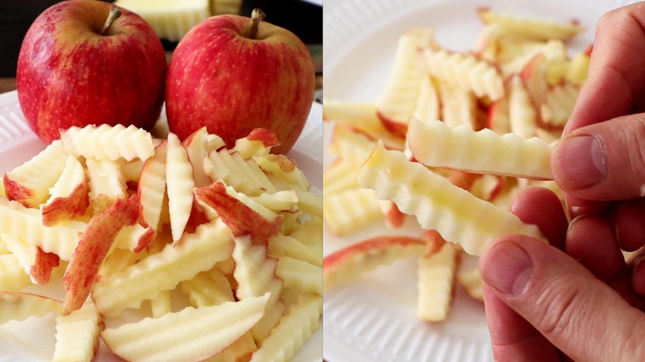 How To Make Fresh Apple Chips - Super Fruits Decoration Ideas