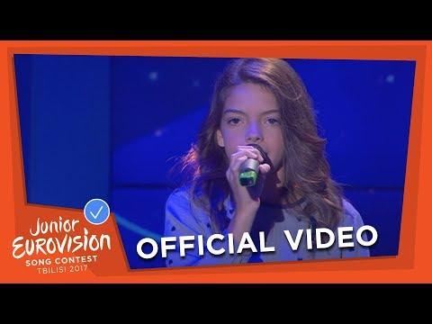 MARIANA VENÂNCIO - YOUTUBER - PORTUGAL 🇵🇹 - OFFICIAL VIDEO - JUNIOR EUROVISION 2017