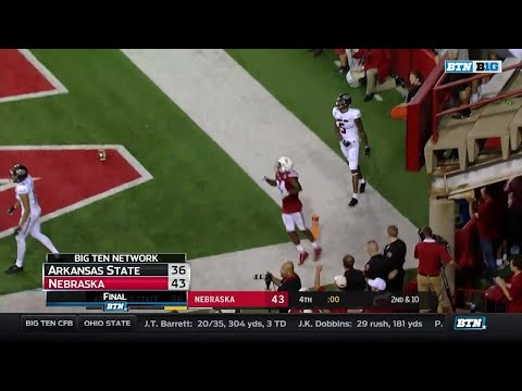 Arkansas State at Nebraska - Football Highlights