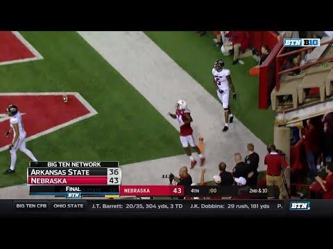 Arkansas State at Nebraska - Football Highlights