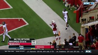 Arkansas State at Nebraska - Football Highlights 2017