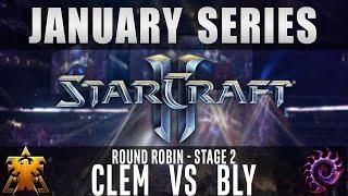 Clem vs Bly [TvZ] Round Robin Stage 2 - January Series - Starcraft 2