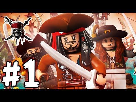 LEGO Pirates of the Caribbean - Episode 01 - Jack Sparrow (HD Gameplay Walkthrough)