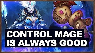 Control Mage Is Always Good | Control Mage 2018 | The Witchwood | Hearthstone