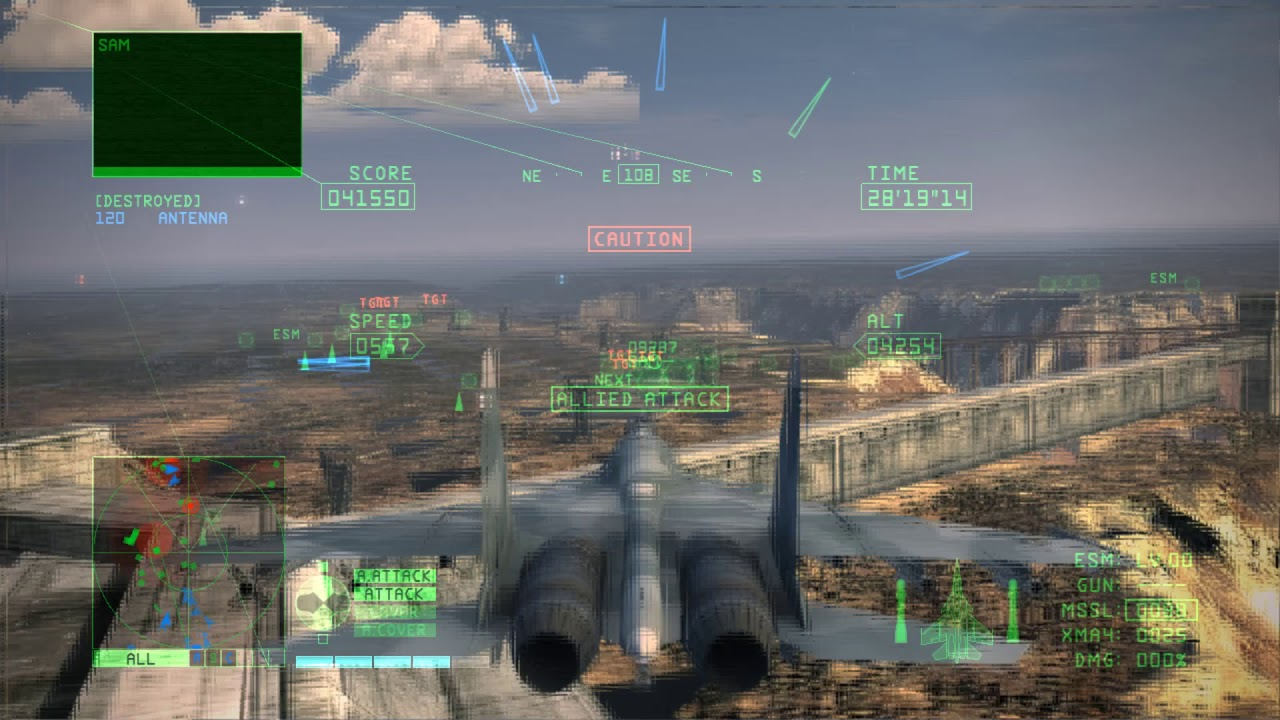 Ace Combat 6 - Finally beat it!!! (Xenia 1 04-ML)