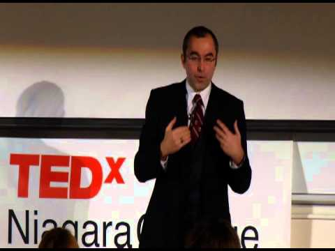 The New Age of Communication: Dr. Alex Sévigny at TEDxNiagaracollege