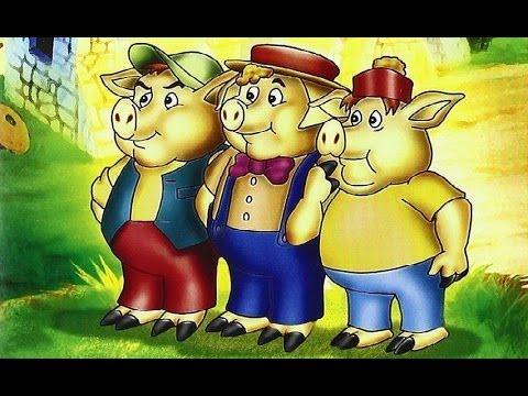 Los 3 Cerditos Español