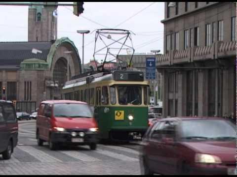 HELSINKI TRAMS MAY 2000